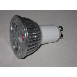 3W LED pære GU10